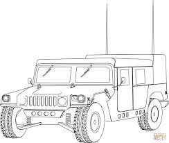 hummer military humvee car coloring page transportation cars