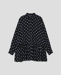 black polka dot blouse polka dot blouse view all shirts tops zara united states