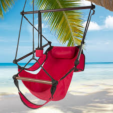 Swinging Outdoor Chairs Hammock Hanging Chair Air Deluxe Outdoor Chair Solid Wood 250lb