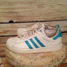 adidas superstar light blue adidas shoes superstar light blueturquoise 8 poshmark