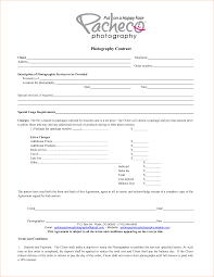 5 photography contract template timeline template