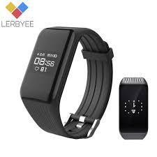 bracelet iphone sleep images Lerbyee smart bracelet k1 heart rate monitor band sleep tracker jpg