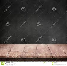 Dark Wooden Table Texture Wood Table With Dark Concrete Texture Background Stock Photo