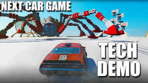 next car game full tech demo pc youtube