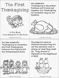 Thanksgiving Story For Preschool Thanksgiving Printable Story Festival Collections