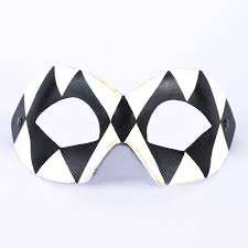black and white masquerade mask harlequin black white masquerade mask vivo masks