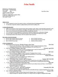 Professional Highlights Resume Examples by Boat Captain Resume Example Boating Engineer Manager Mate