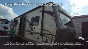 rockwood floor plans new 2018 forest river rv rockwood ultra lite 2902ws travel trailer