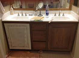 painting oak bathroom cabinets white bathroom decor ideas