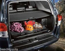 2006 toyota accessories genuine toyota 4runner cargo cover 2010 2014 oem ebay