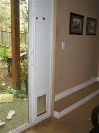 doggy door glass door build a pet patio door