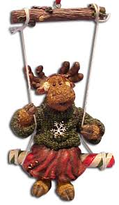cuddly collectibles moose ornaments