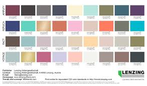 trending color palettes lenzing color trends autumn winter 2018 2019 autumn winter and