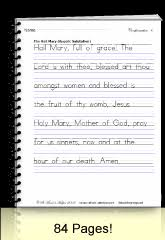 handwriting practice sheets manuscript u0026 cursive