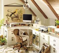 Small Home Office Furniture Decorating Design Ideas From Pottery