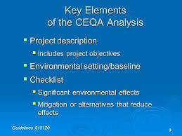framing alternatives 1 1 the project description framing the ceqa analysis terry