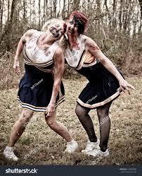 Zombie Cheerleader Zombie Cheerleaders Stock Photo 135583946 Shutterstock