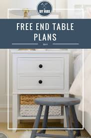 free end table plans table plans wooden projects and woodworking