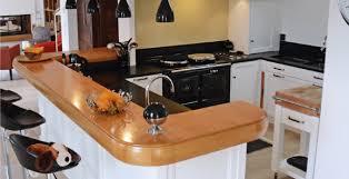 comptoir de la cuisine un comptoir convivial pour une cuisine de bord de mer