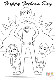 you u0027re a super dad coloring page free printable coloring pages