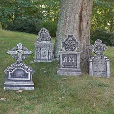 Scary Halloween Haunted House Music Outdoor Halloween Tombstone Decoration Scary Spooky Haunted House