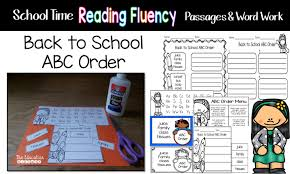 the education highway time reading fluency passages