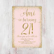 birthday invites exciting 21st birthday invitations designs 21st