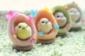 felt easter eggs nozomi crafts is coming needle felted easter eggs and