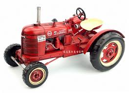vintage tractor model iron ornaments home furnishing jewelry retro