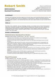 Administrative Coordinator Resume Sample As400 Resume Samples As 400 Resume Sample For Experienced
