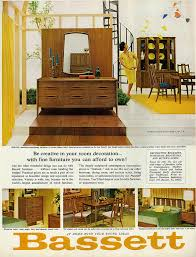 home decor ads 1965 home decor furnishings ad bassett furniture flickr