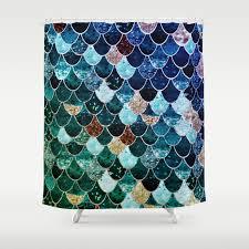 Really Curtains Really Mermaid Shower Curtain By Monikastrigel Society6