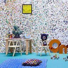 papier peint harlequin papier peint stardust 364x280 cm 4 lés multicolore bien fait