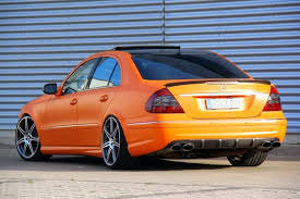 mercedes amg orange mercedes w211 e55 amg orange matte benztuning