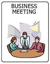 free business meeting printable invitations
