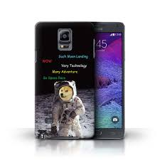 Galaxy Note Meme - stuff4 back case cover skin for samsung galaxy note 4 funny shibe