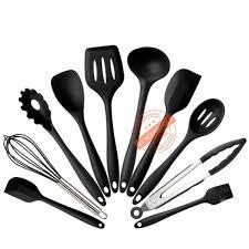 cuisine ustensiles noir silicone ustensiles de cuisine ustensile de cuisine outil
