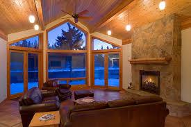 douglas fir home nautilus finish carpentry