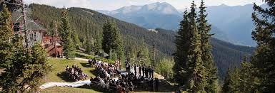 Colorado Weddings Breathtaking Aspen Colorado Wedding Venues The Little Nell