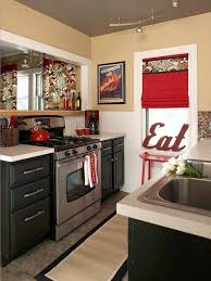 Kitchen Ideas On A Budget For A Small Kitchen Best 25 Red Kitchen Accents Ideas On Pinterest Red And White