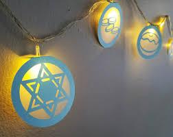 hanukkah lights decorations hanukkah decorations etsy
