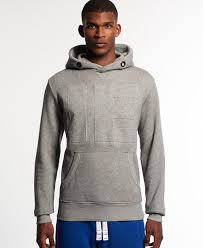 superdry runner embossed cross neck hoodie superdry men hoodies