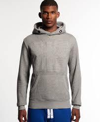 superdry runner embossed cross neck hoodie superdry men hoodies