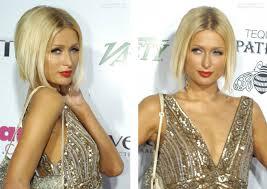 best hair cuts in paris female celebrity hairstyles paris hilton haircut blonde bob