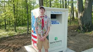 How To Dispose Of A Flag Properly Flag Retirement Facility South Fayette Township Pa Official