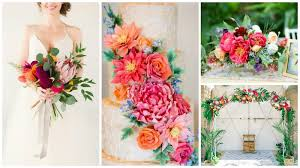 tropical wedding theme how to throw a truly tropical wedding wedding journal