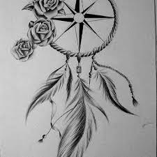 catcher tattoos catchers catcher 36 dreamcatcher with roses tattoos