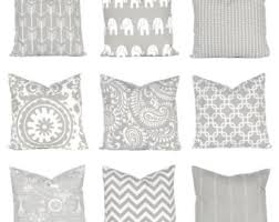 Grey Decorative Pillows Gray Pillow Covers Decorative Pillow Cover Pillow Cover