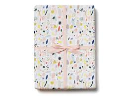 pug wrapping paper confetti wrapping paper hank sylvies