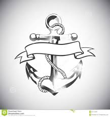 design tattoo hand vector tattoo anchor stock photography image 32088752